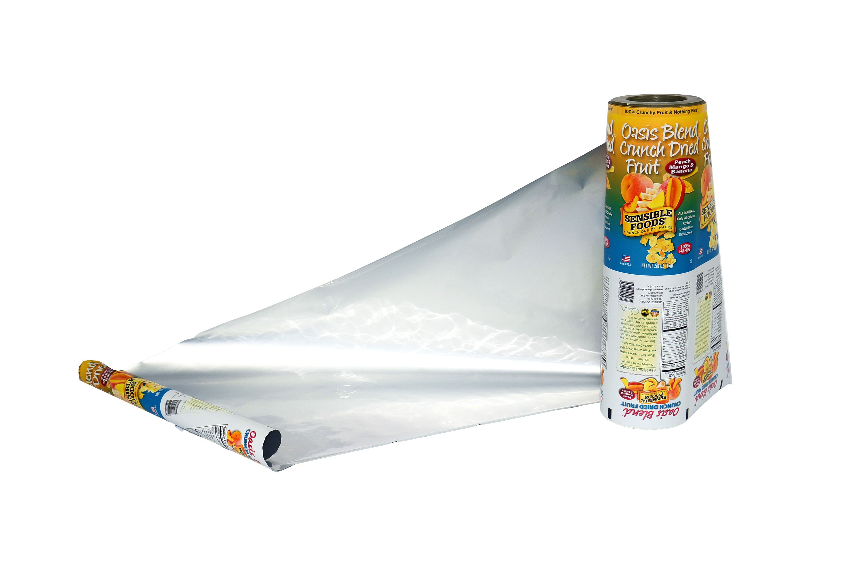 aluminum foil fruit packaging roll film