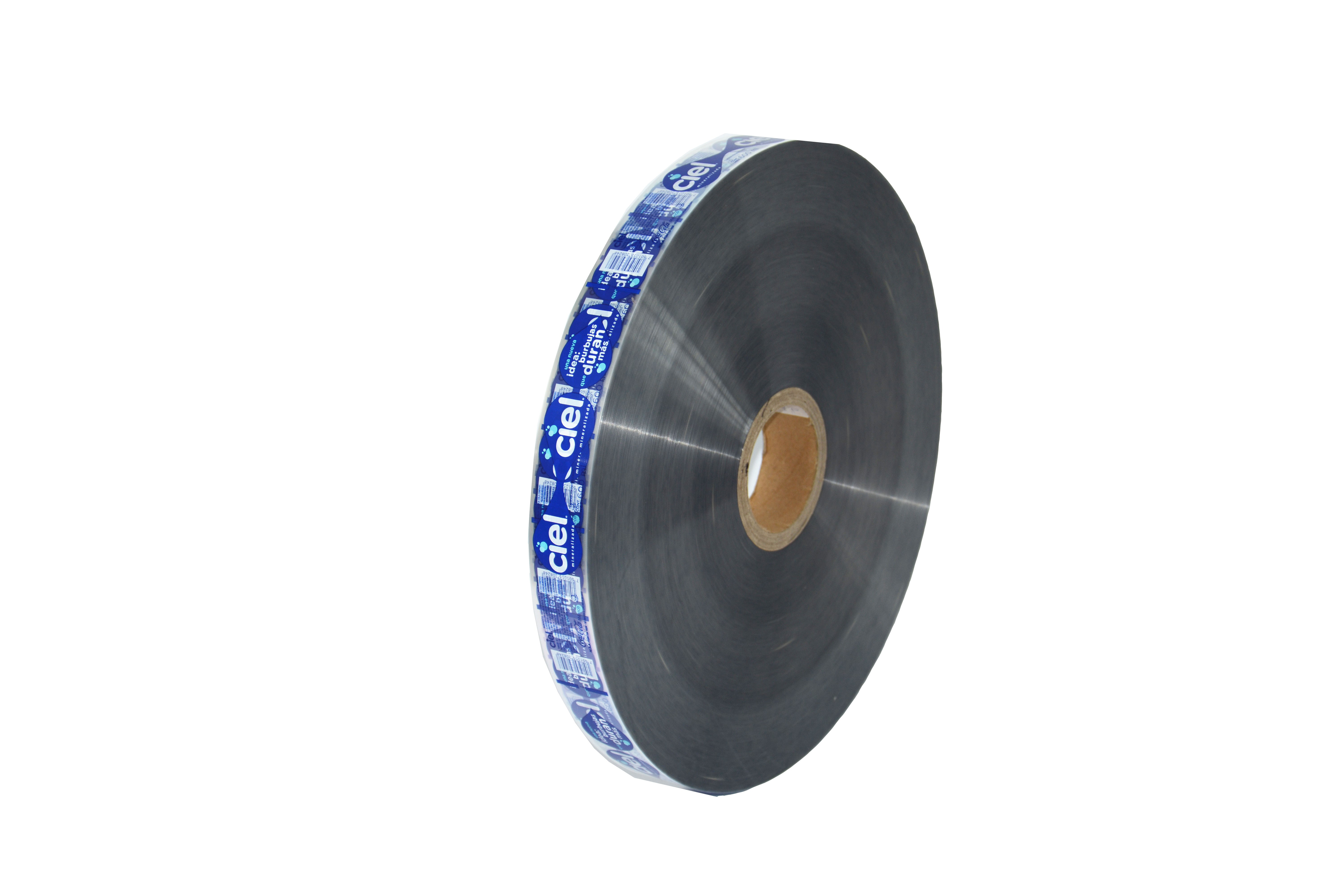 plastic label film with surface printing