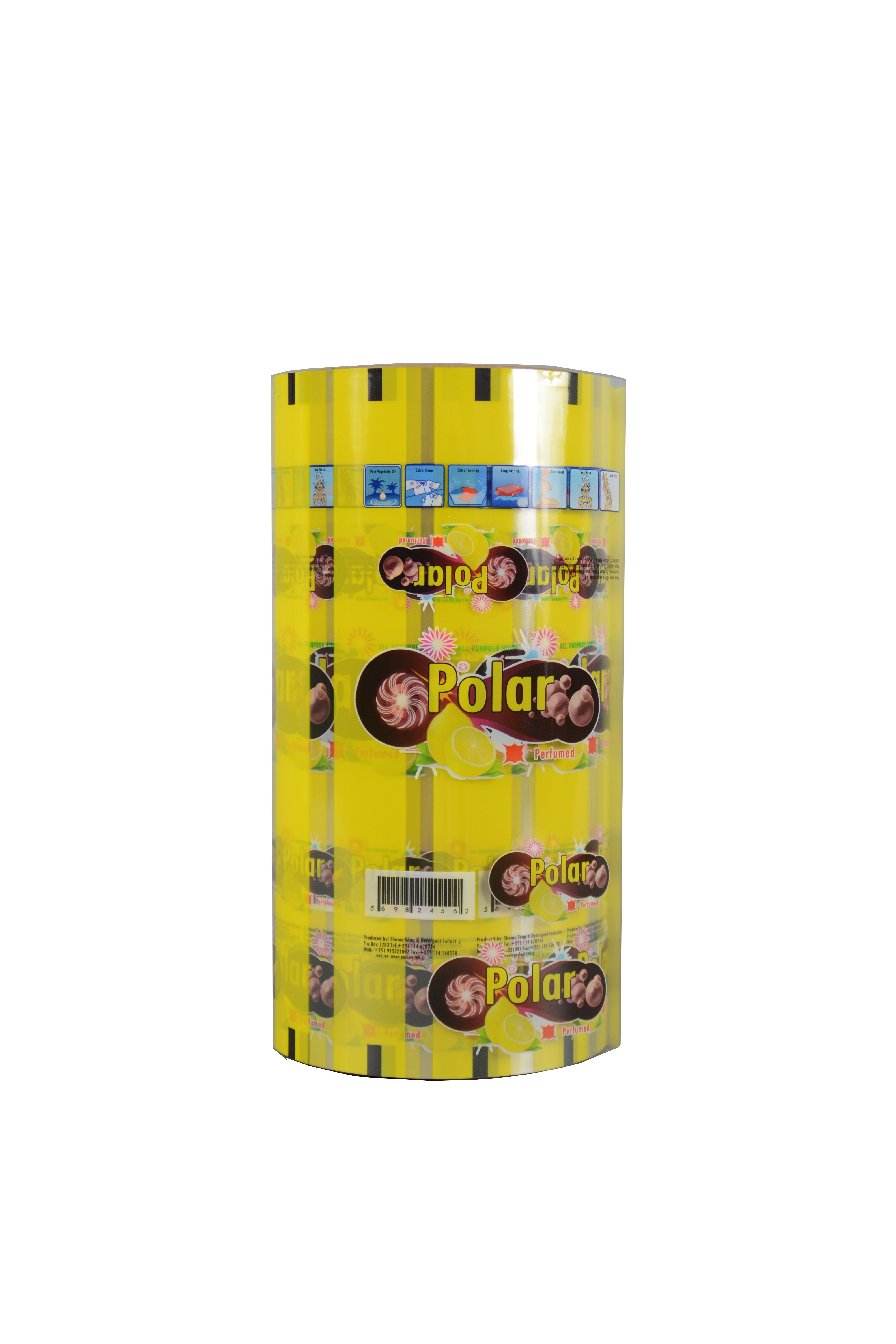 Custom Printing Promotional Best Price Detergent Roll Film Stock